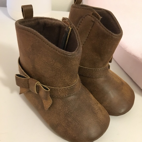 37ed986d6 Carter's Shoes | Carters Baby Girl Boots | Poshmark